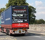 Parrot Motorway Flush Rear Lorry Advertising