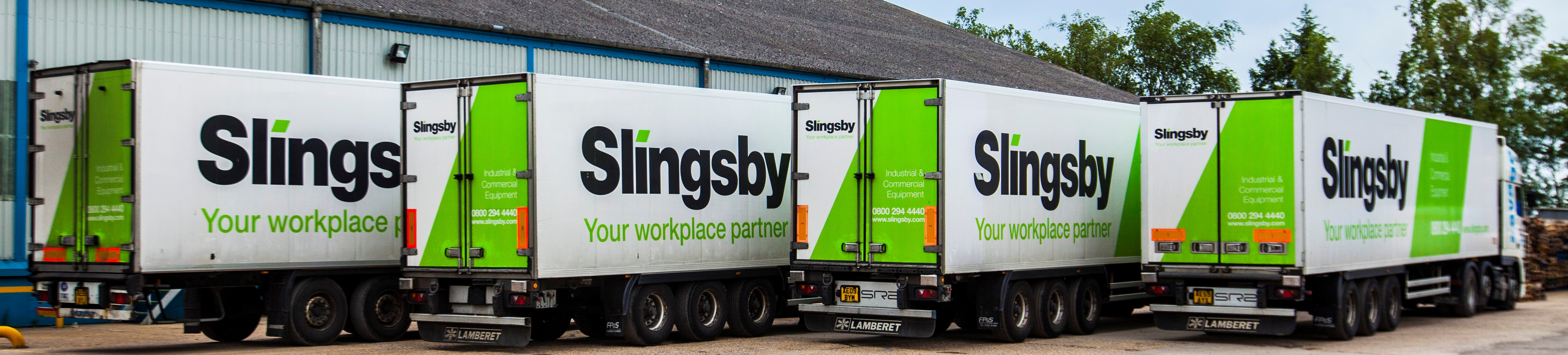 Full Wrap Truck Advertising Slingsby