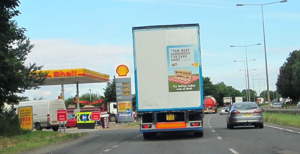 Sheet Motorway Advertising