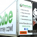 Fluecube Full Wrap with Traxx Frame & lacquered banners